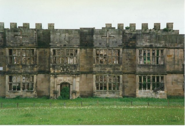 The Ruins of Gibside Hall
