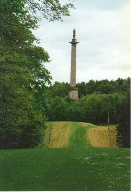 Gibside Gardens Monument
