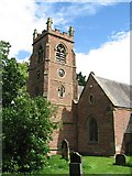 NZ3411 : Church and churchyard by Antonia