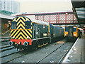 SK3586 : Escafeld shunting in Sheffield station by Stephen Craven