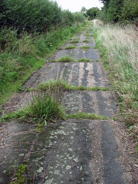 Concrete track