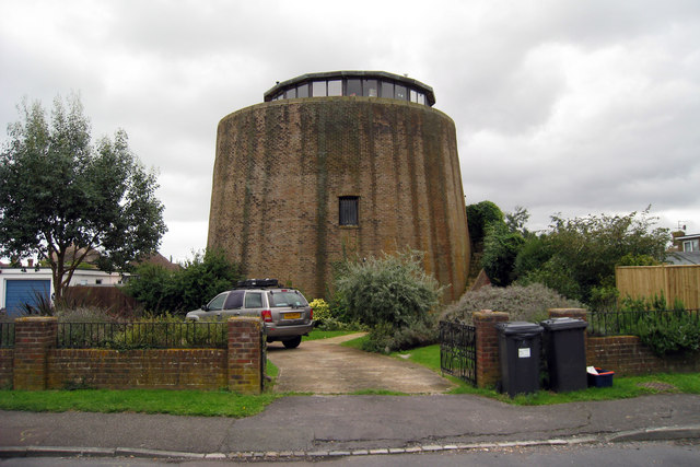 Martello Tower Number 60  Pevensey Bay      U00a9 Oast House