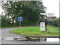 SU0710 : Edmondsham: Pinnocks Moor junction by Chris Downer