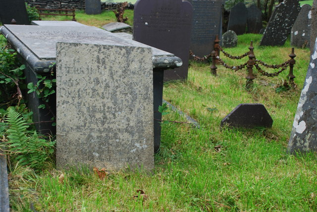 Bedd Jac Blac Ystumllyn - The Grave of Jack Black Ystumllyn