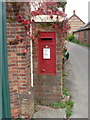 ST9917 : Sixpenny Handley: postbox № SP5 201, outside post office by Chris Downer