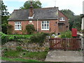 ST9515 : Farnham: the old school house and postbox № DT11 86 by Chris Downer