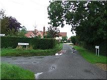 TM1169 : Start of Deadmans Lane by Keith Evans
