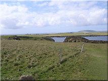HY5042 : Coastal path near Castle O' Burrian by Nicholas Mutton