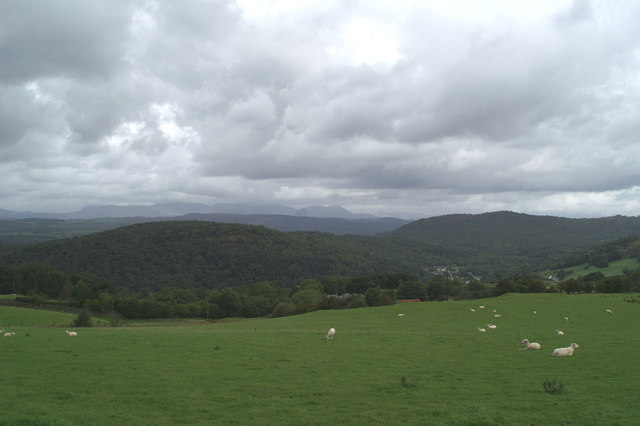 The Lake District from Bigland