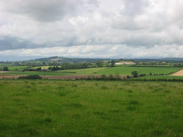 Newgrange from Roughgrange, Co. Meath