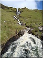 G9289 : Grey Mare's Tail Waterfall: Croaghgorm by louise price