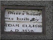 D3115 : Plaque, Castle Street, Glenarm by Kenneth  Allen
