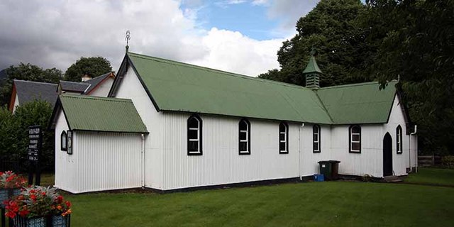 St Fillan, Killin - Tin tabernacle