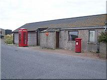 HP6208 : Baltasound Post Office (Britain's most northerly) by Nick Mutton