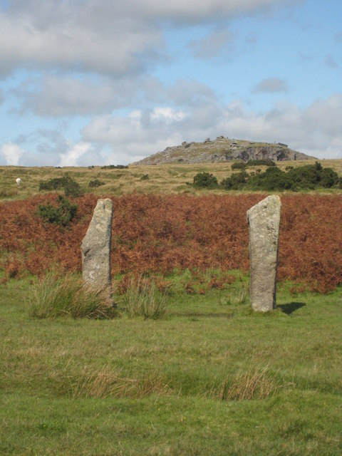 The Pipers standing stones