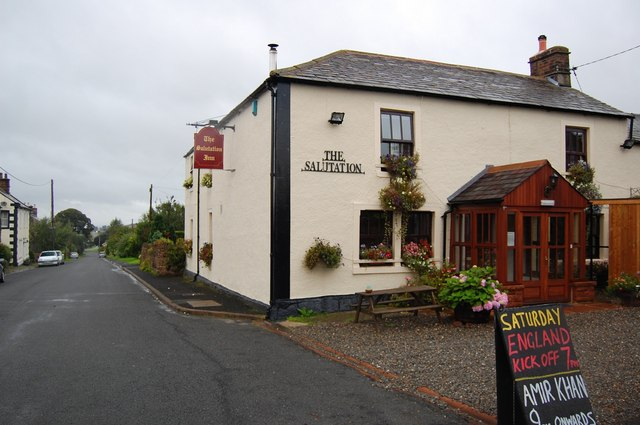 The Salutation Inn, High Hesket