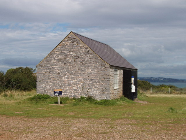 Artillery Store visitor centre at Berry Head