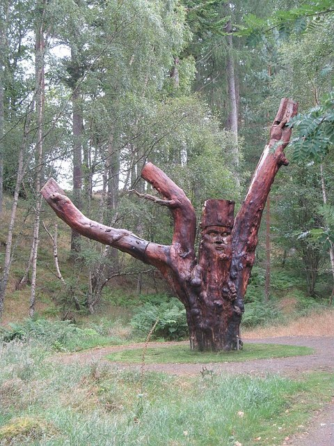 Frank Bruce sculpture