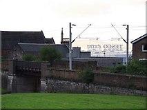 NS3174 : Balfour Street railway bridge by Thomas Nugent