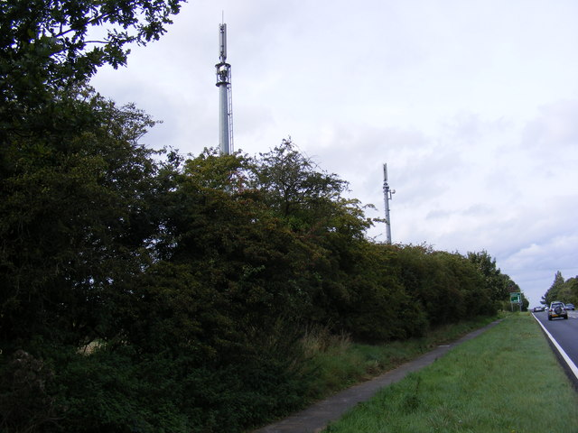 A pair of Mobile Phone Masts