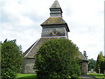 SO3958 : Pembridge bell tower by andy dolman
