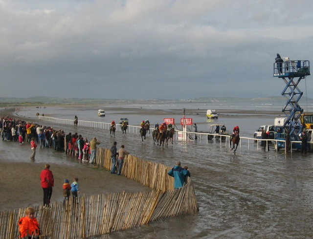 Last race at Laytown, Co. Meath