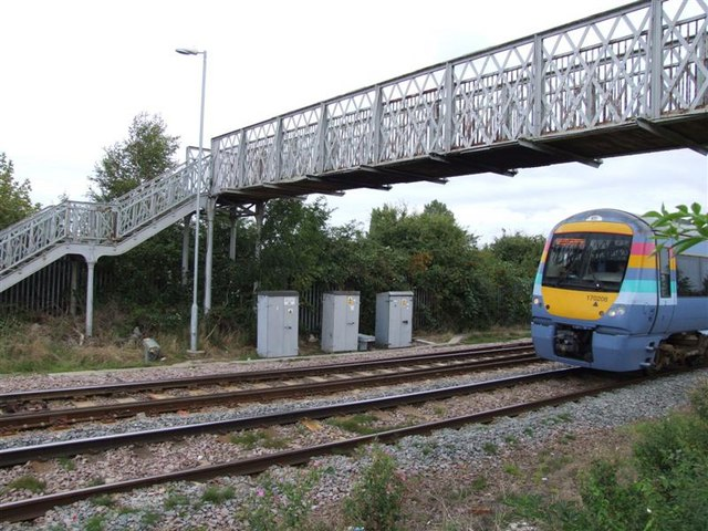 Lime Grove footbridge.