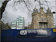 NT2572 : Old and New at Quartermile by Renata Edge