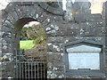 SM8821 : Castle wall by Deborah Tilley