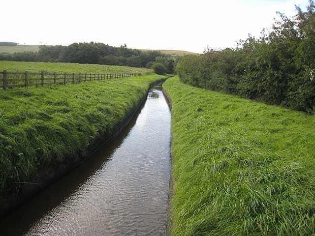 Leat near Bingfield