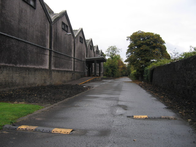 Bonded warehouses at Dumbuck