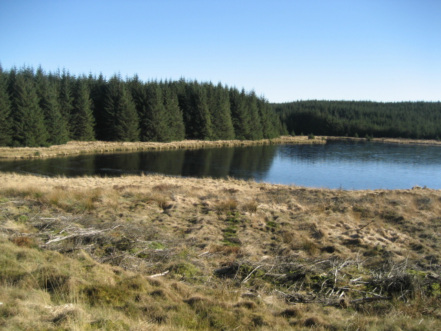 Llyn Du a remote place of peace and quiet