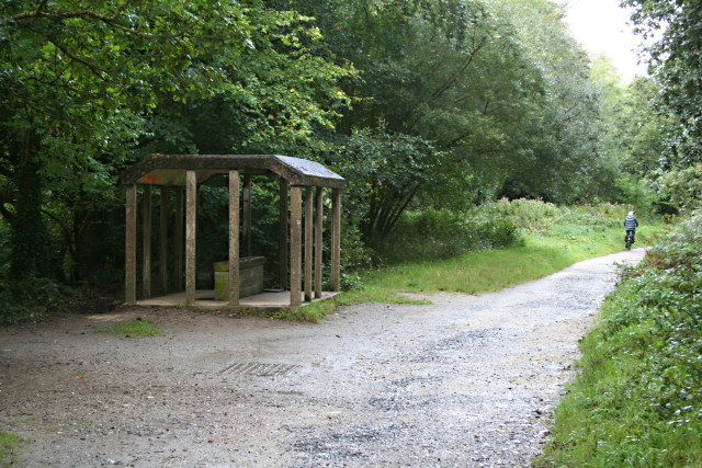 Rain Shelter on the Camel Trail
