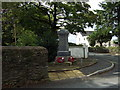 SM9329 : War memorial, Treletert/Letterston by ceridwen