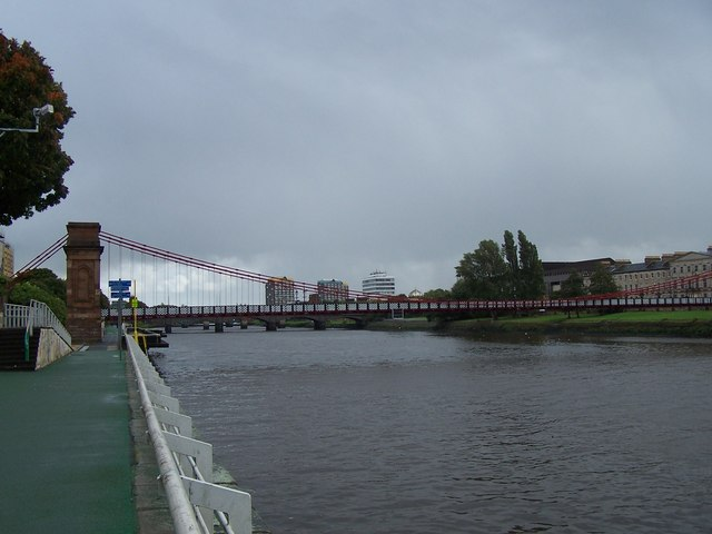 Portland Street Suspension  Bridge