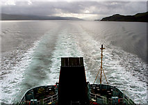 NM5549 : Sound Of Mull by Allister Combe