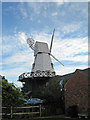 TQ9120 : Rye Windmill, Ferry Road, Rye, East Sussex by Oast House Archive