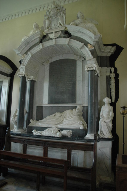 Coventry Monument, Croome D'Abitot Church