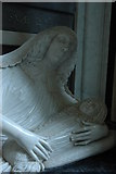 SO8845 : Monument, Croome D'Abitot Church by Philip Halling