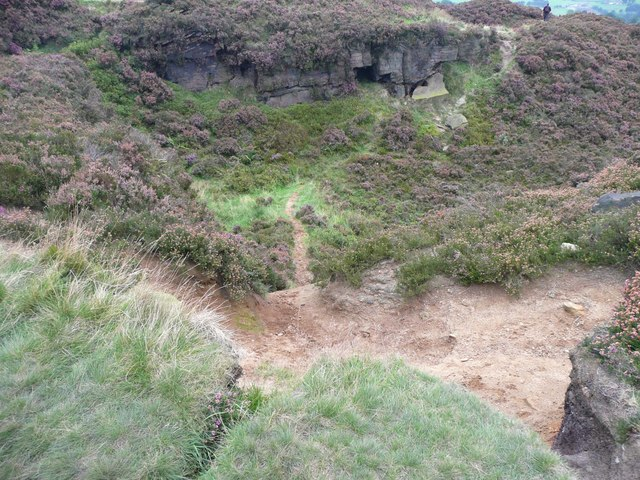 Disused quarry, Norland Moor, Norland
