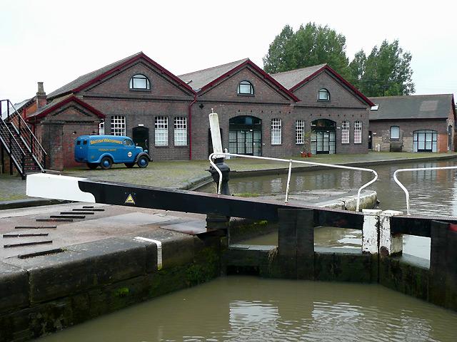 British Waterways Depot at Hatton, Warwickshire