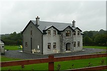 M9943 : New house at Cartron by Graham Horn