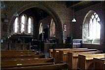 SY0191 : Farringdon  Church  Interior. by Liz Moon