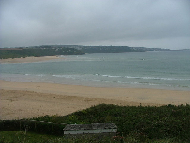 View across the mouth of River Hayle