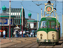 SD3036 : Blackpool Promenade by Dave Green