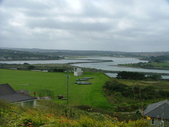 Hayle river and harbour from Riviere Towans