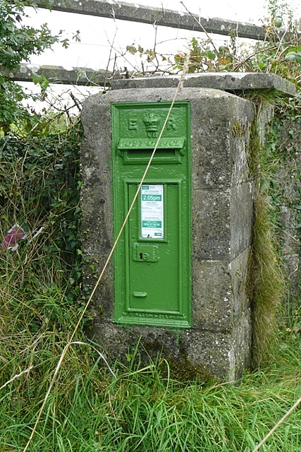 Edward VII post box at Kiltoom