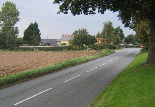 Road north through Henley