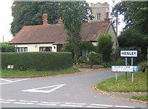TM1551 : The start of Church Lane, Henley by Andrew Hill