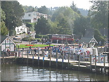 SD4096 : Landing Stage at Bowness on Windermere by Phil Gresham